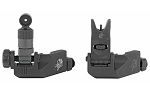 Knights Armament Company 200m-600m Micro Offset Folding Sight Kit Clamp On