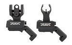 Troy Battlesight Offset Set HK Front and Round Rear Black