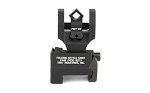 Troy Folding Dioptic Rear Battlesight Black