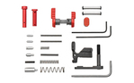 Armaspec Superlight Lower Parts Kit .223/5.56 without FCG & Grip Red