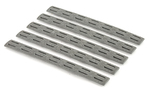 Bravo Company Gunfighter Keymod Rail Panels Wolf Gray