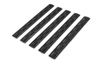 Bravo Company Gunfighter M-LOK Rail Panels Black