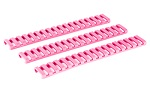 Ergo Grip 18 Slot LowPro Ladder Rail Covers 3 Pack Pink
