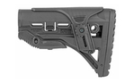 Fab Defense GL-Shock AR-15 Stock w/Cheek Rest Black
