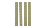 Hexmag 7-Slot KeyMod Rail Covers 4 Pack FDE