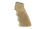 Hogue OverMolded Rubber Grip AR-15 with Grooves Flat Dark Earth