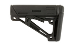Hogue AR-15 OverMolded Collapsible Buttstock Mil-Spec Black