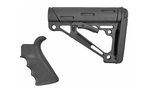 Hogue AR-15 OverMolded Beavertail Grip & Collapsible Buttstock Mil-Spec Black