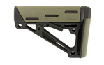 Hogue AR-15 OverMolded Collapsible Buttstock Mil-Spec OD Green