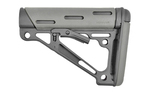 Hogue AR-15 OverMolded Collapsible Buttstock Mil-Spec Grey