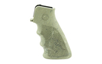 Hogue OverMolded Rubber Grip AR-15 with Grooves Ghillie Green