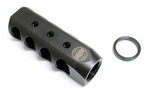 LWRC Ultra-Brake 4 Port Muzzle Brake 5.56