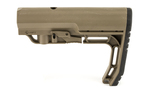 Mission First Tactical BattleLink Minimalist Stock Mil-Spec Scorched Dark Earth