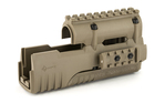 Mission First Tactical Tekko Polymer Integrated Rail System Scorched Dark Earth