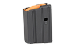 Ammunition Storage Components .223/5.56 Steel 10RD Magazine Black/Orange