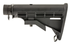 UTG 6 Position AR-15/M4 Mil-spec Stock Kit Black