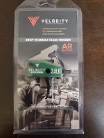 Velocity Triggers 3.5lb Curved Single Stage AR-15 Trigger