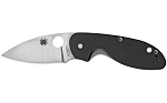 Spyderco Efficient G-10 Black Plaine
