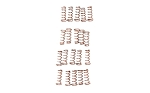 LBE Unlimited AR-15 Disconnector Springs 20 Pack