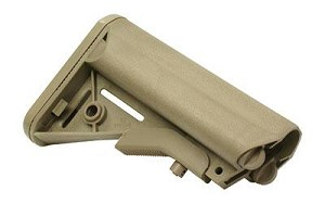 B5 Systems Enhanced SOPMOD Mil-Spec Stock Flat Dark Earth