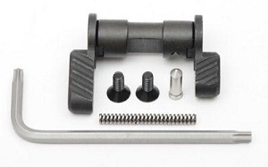 Battle Arms Development Ambidextrous Safety Selector (BAD-ASS) AR-15/10 Black