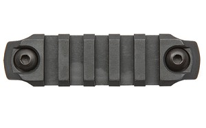 "Bravo Company Gunfighter M-LOK Nylon Rail 3"" Black"