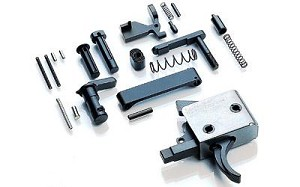 CMC Lower Parts Kit (LPK) With 3.5lb Curved Trigger