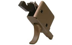 CMC Single Stage Curved Trigger Burnt Bronze 3.5lb