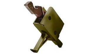 CMC Single Stage Flat Trigger OD Green 3.5lb