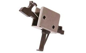 CMC Two Stage Flat Trigger Black 1/3lb