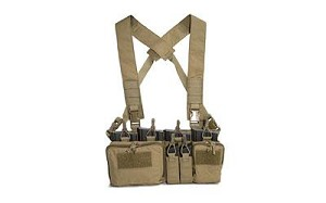Haley D3CR Heavy Disruptive Environments Chest Rig Coyote