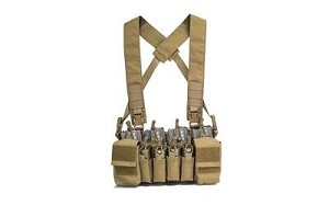 Haley D3CR X Disruptive Environments Chest Rig Coyote Brown