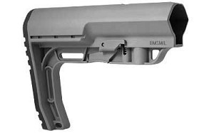 Mission First Tactical BattleLink Minimalist Stock Mil-Spec Gray