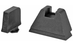 AmeriGlo Suppressor 3XL Height Flat Black Sights Glock