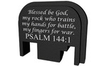 Bastion Rear Slide Plate Glock 17-41 and 45 Gen 1-5 Psalm 144:1