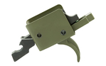 CMC Single Stage Curved Trigger OD Green 3.5lb