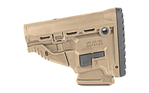Fab Defense GL-MAG M4 Survival Stock with Built-in 10rd Magazine Carrier FDE